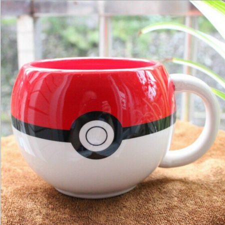 Pokemon GO Pokeball Coffee Mug