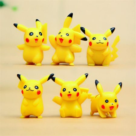 Pikachu playable safe action figure for kids