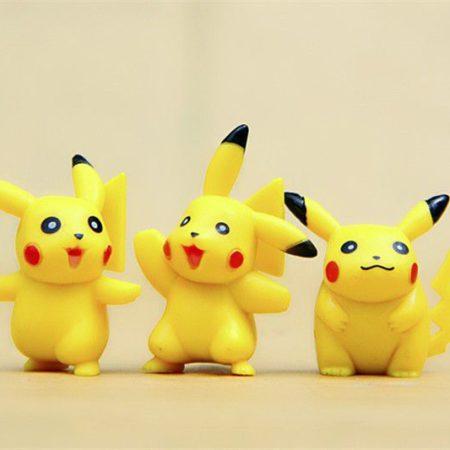 Cute Pikachu PVR Toys