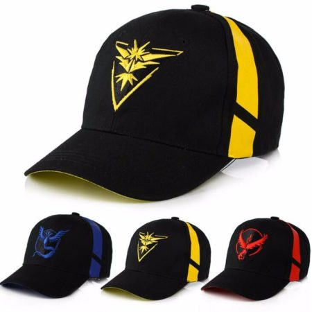 Pokemon Go Team Valor Mystic Instinct Cap 7