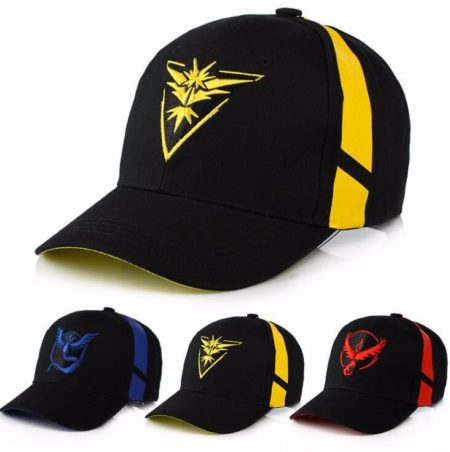 Pokemon Go Team Valor Mystic Instinct Cap 1