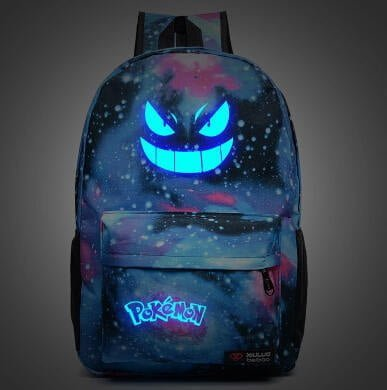 Pokemon Gengar School Bag