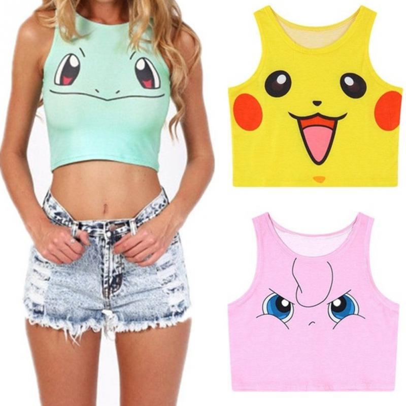 e074653d02f75 Cute Pokemon Top for Women – Hippy Case