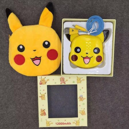 Cute Pokemon Pikachu 12000 mAh Power Bank