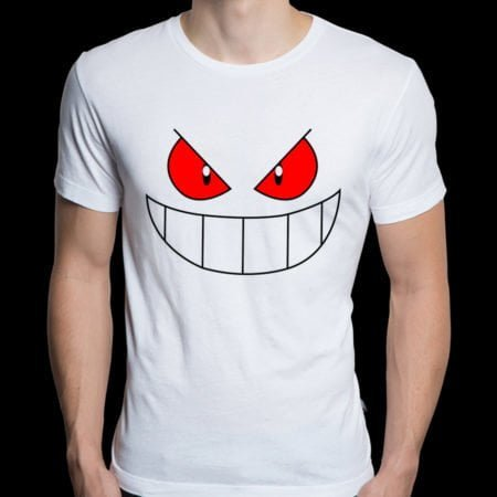 Short sleeve Pokemon Gengar T-shirt for Men