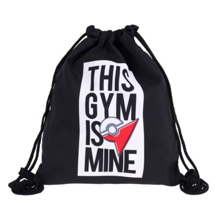 Pokemon Gym 3D Drawstring Backpack 1