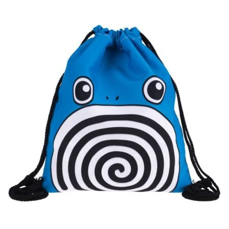 Poliwhirl 3D Drawstring Pokemon Backpack 2