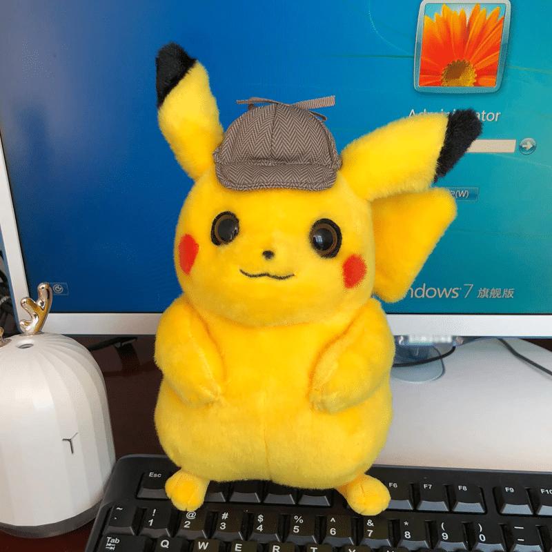Detective Pikachu Plush Pokemon Collection Hippycase